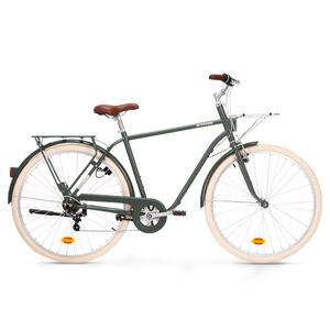 City Bike 28 Zoll Elops 520 HF Herren khaki