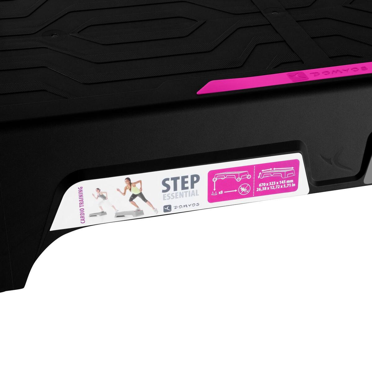Bild 2 von Stepbank Essential schwarz/rosa