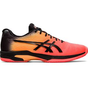 Tennisschuhe Gel-Solution Speed FF Sandplatz Herren orange