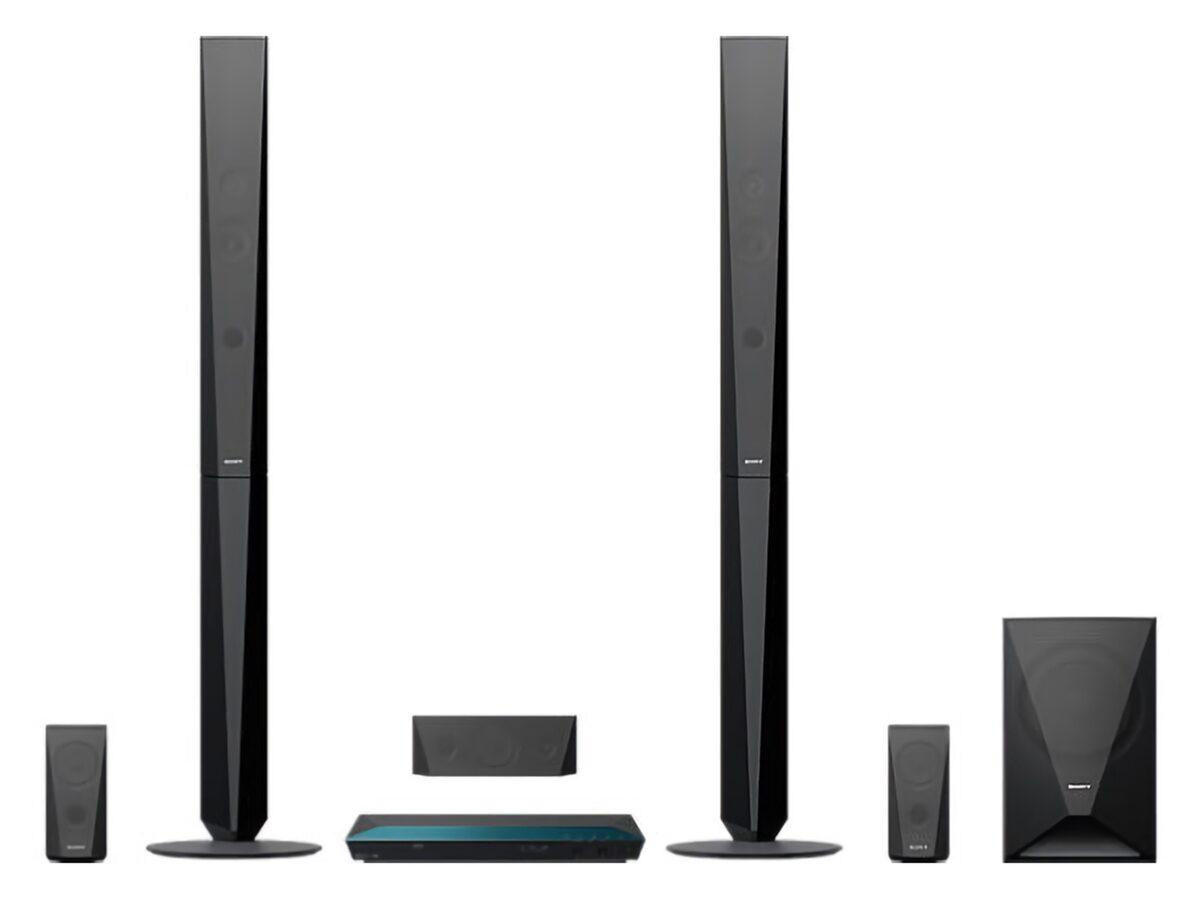 Bild 2 von Sony 3D Blu-ray Home Entertainment-System »BDV-E4100« 5.1 Heimkinosystem (Bluetooth, WLAN, Nachtmodus)