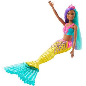 Barbie Dreamtopia Meerjungfrau, türkis- und lilafarbenes Haar
