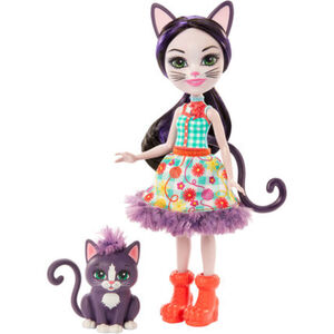 Enchantimals Ciesta Cat & Climber Puppe
