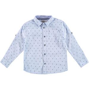 Basefield Hemd, Turn-up-Ärmel, Print, für Jungen