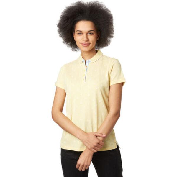 Adagio Poloshirt, bedruckt, für Damen