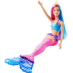 Barbie Dreamtopia Meerjungfrau, pinkes und blaues Haar