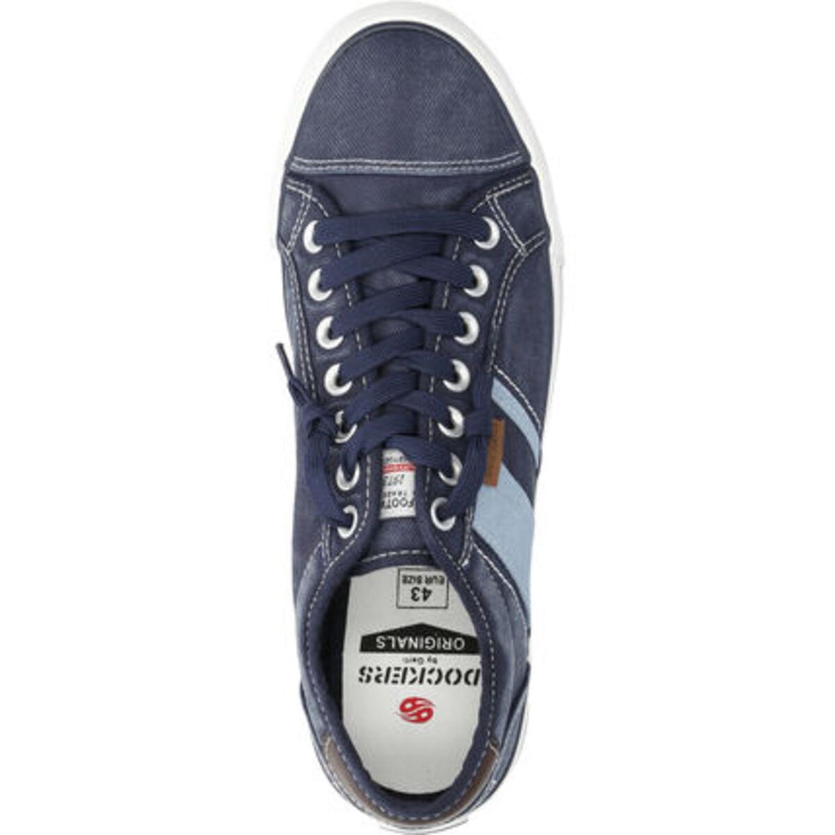 Bild 2 von Dockers® by Gerli Sneaker , Canvas, Jeansoptik, für Herren
