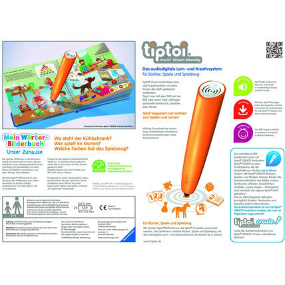 Bild 2 von Ravensburger tiptoi® Starter-Set: Stift und Wörter-Bilderbuch