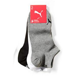 Puma Sneaker -Socken, 3er-Pack, Baumwoll-Mix, uni, für Damen und Herren