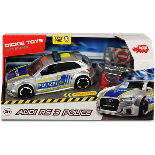 Dickie Toys Audi RS3 Polizei