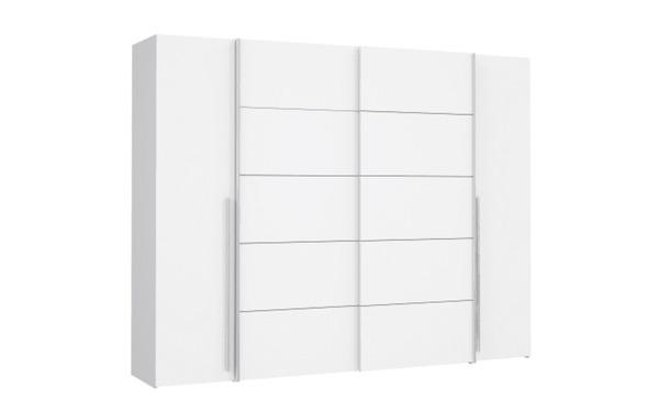 hardi - Kleiderschrank Narago in weiß