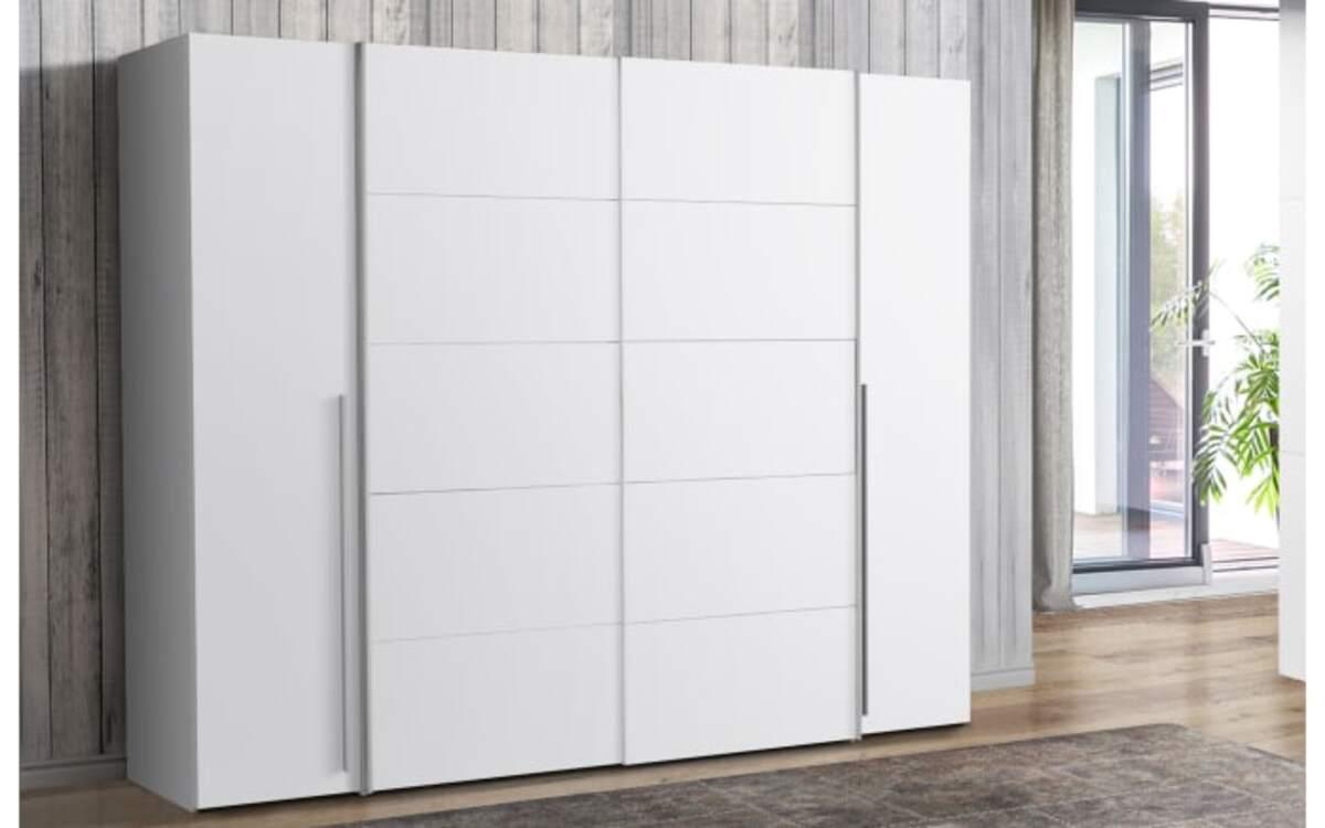Bild 2 von hardi - Kleiderschrank Narago in weiß
