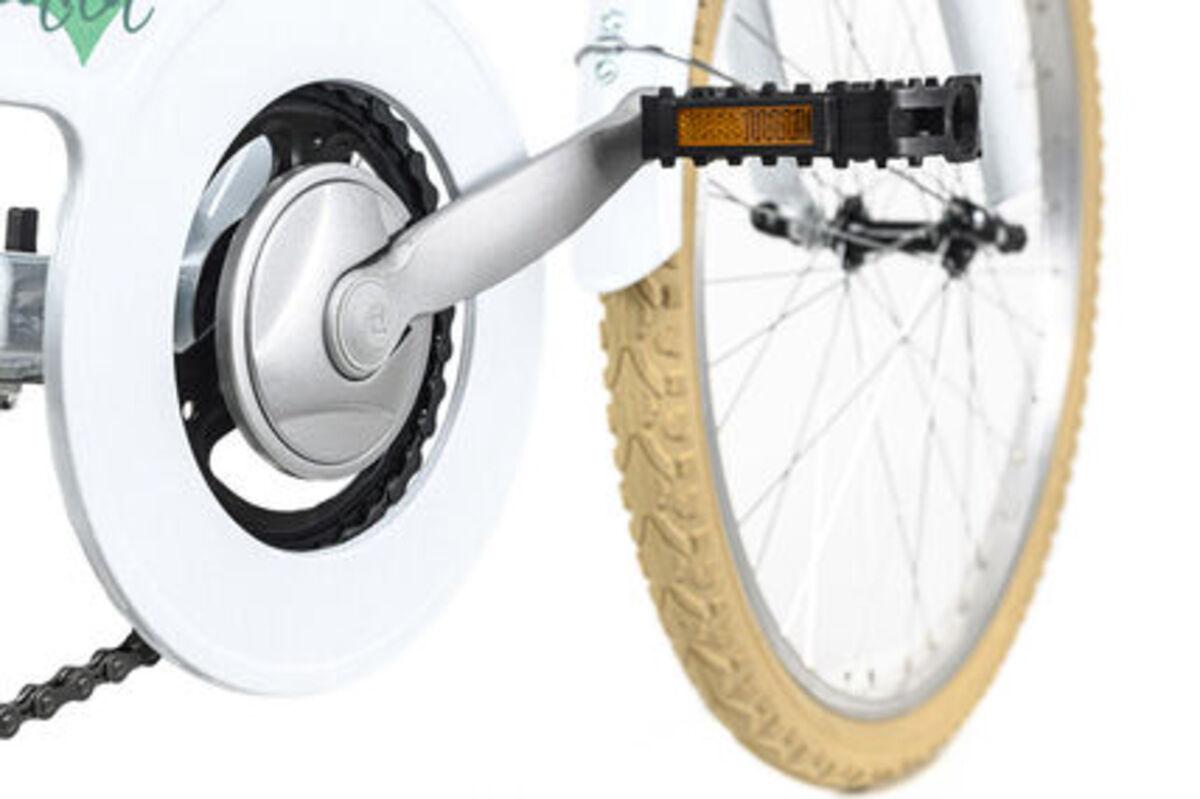 Bild 2 von KS Cycling Kinderfahrrad 24'' Toscana weiß 6 Gänge