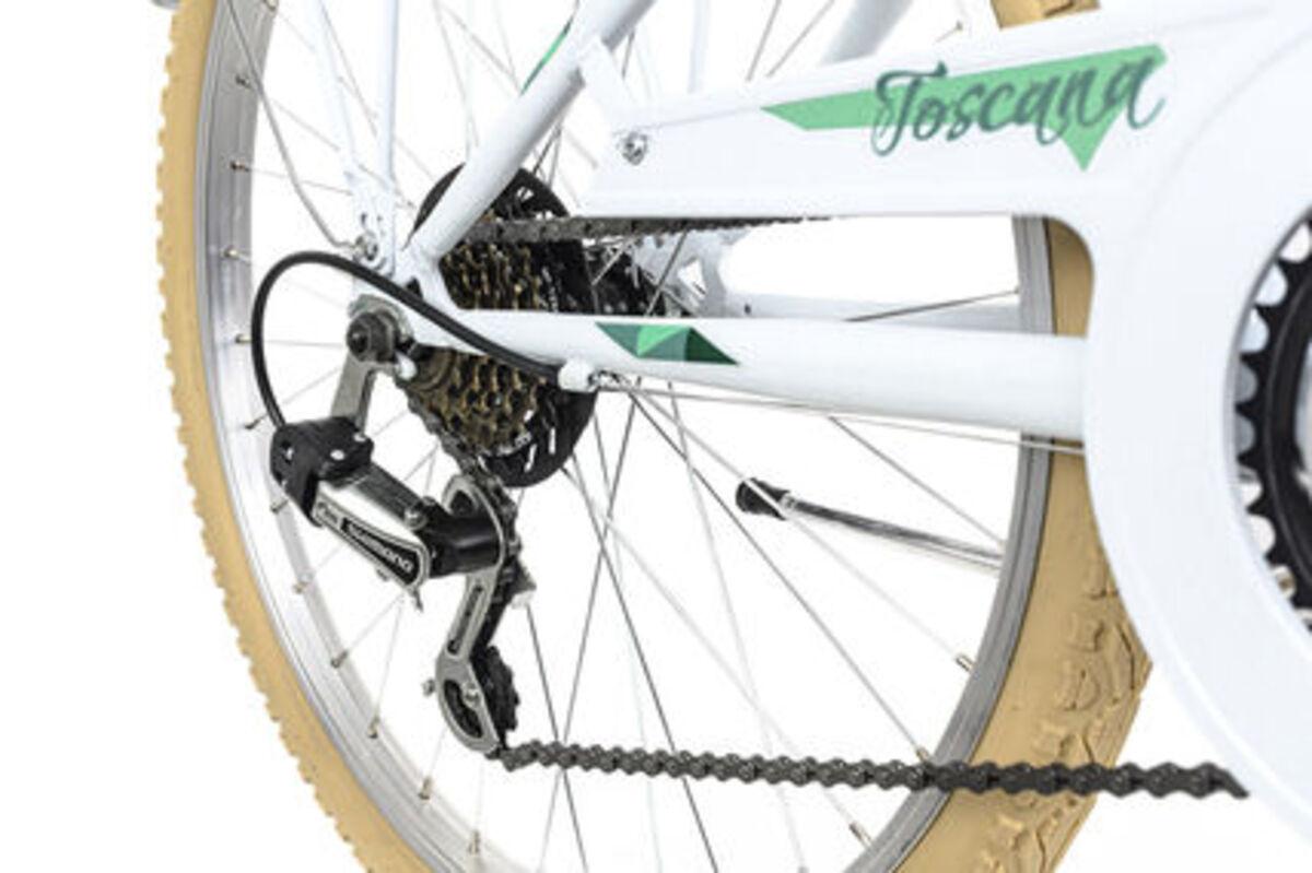 Bild 3 von KS Cycling Kinderfahrrad 24'' Toscana weiß 6 Gänge