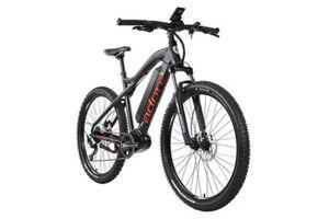 Adore Alu E-Mountainbike Hardtail 27,5'' Adore Xpose Schwarz Mittelmotor 36 V/14 Ah Li-Ion-Akku 9-Gang