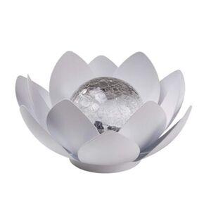 Pureday Solarleuchte 'Floris', Weiß