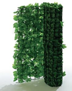 Pureday Spar-Set Sichtschutz, 2-Stk. 'Efeu', Grün