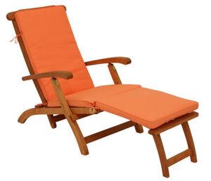 DEGAMO Auflage DENVER für Deckchair, terracotta