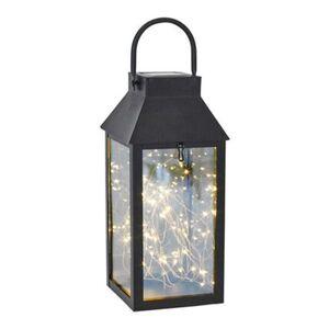 Pureday Solarleuchte 'Lantern', Schwarz