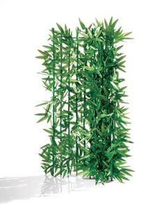 Pureday Spar-Set Sichtschutz, 2-Stk. 'Bambus', Grün