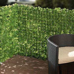 Pureday Sichtschutz 'Efeu', Grün, Kunststoff