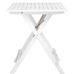 Butlers LODGE Klapptisch 55x55 cm, Weiß