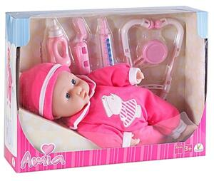 Amia Doktor-Puppe mit Zubehör