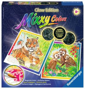 Mixxy Colors Süße Dschungeltiere Aquarell