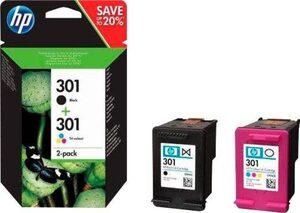 HP »HP 301 / N9J72AE Kombi-Pack« Tintenpatrone