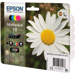 Epson »Tinte Multipack 18 (C13T18064012)« Tintenpatrone