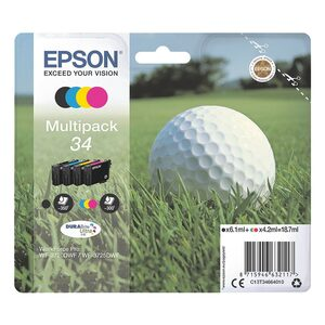 Epson Tintenpatronen-Set »34«