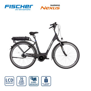 Ergo-Comfort E-Bike ECU 2063 28er - Fahrunterstützung bis ca. 25 km/h - Li-Ionen-Akku mit hochwertigen Markenzellen 48 V/8,8 Ah, 422 Wh - Reichweite: bis ca. 120 km (je nach Fahrweise) - Shimano Nex