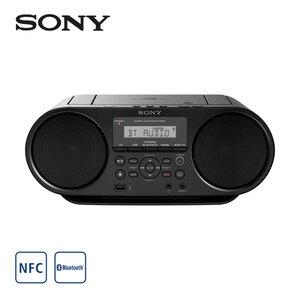 Bluetooth®-MP3-Radio ZS-RS60BT • CD-Player • NFC-Funktion • Audio-In, USB-Anschluss • Netz- oder Batteriebetrieb