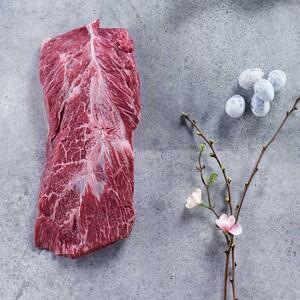 Frisches Irland Iron Flat Steak je 100 g