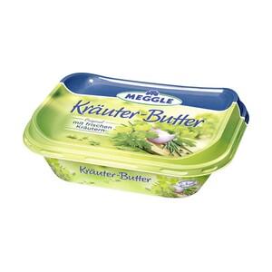 Meggle Kräuter-Butter versch. Sorten, jede 125-g-Rolle/jeder 120-g-Becher