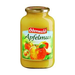 Odenwald Apfelmus oder kaltgeriebenes Apfelmus jedes 720-ml-Glas