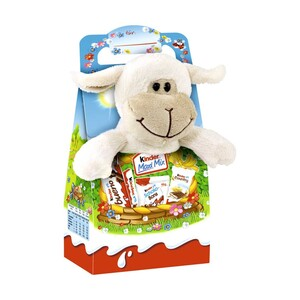 Ferrero Kinder Maxi Mix mit  Plüschtier jedes 133-g-Stück