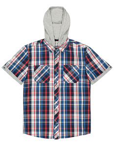 Herren Hemd mit Kapuze