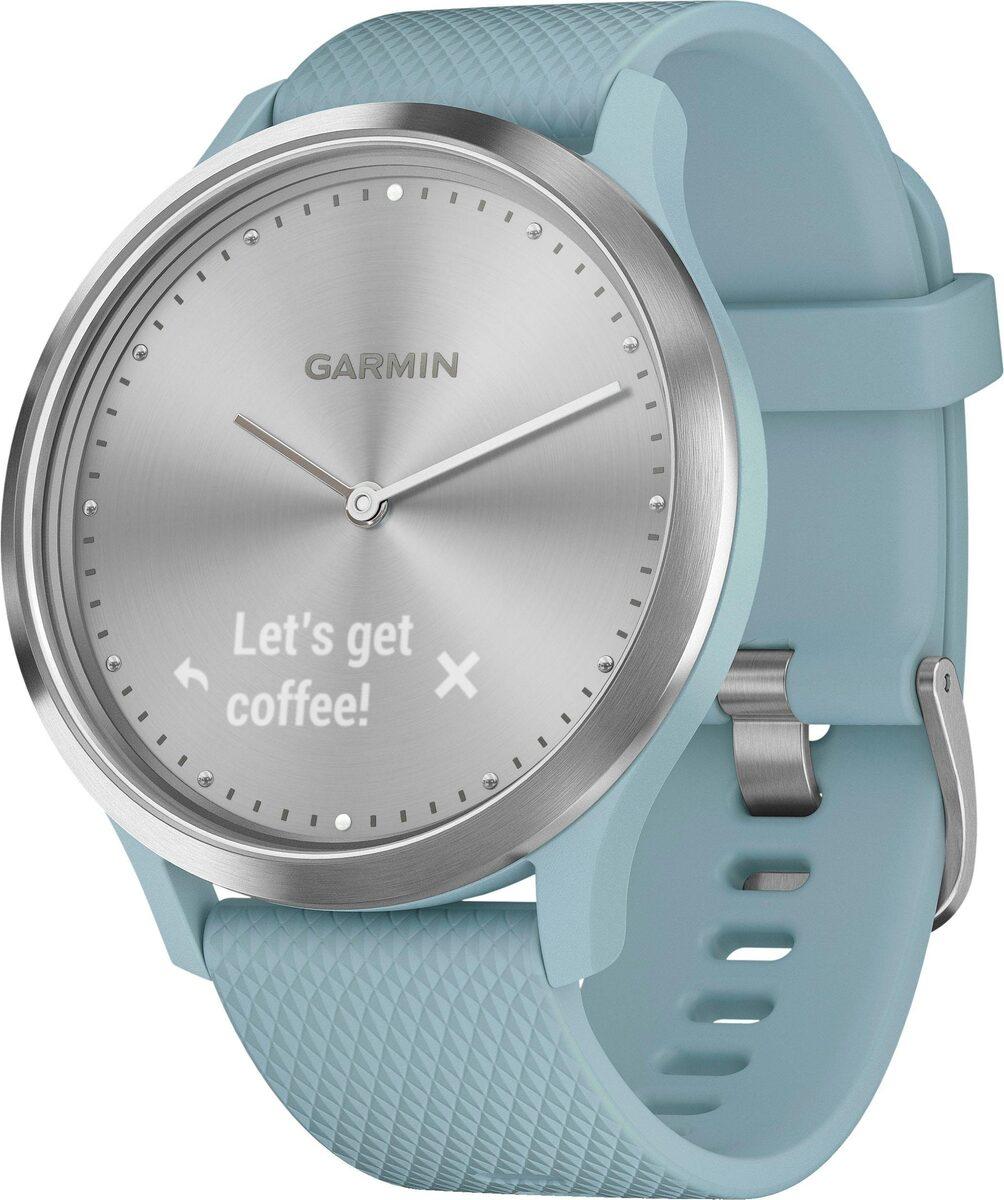 Bild 2 von Garmin vivomove HR Fitness-Tracker im klassischen Uhrendesign (S/M) Fitnessband (4,2 cm/1,65 Zoll)