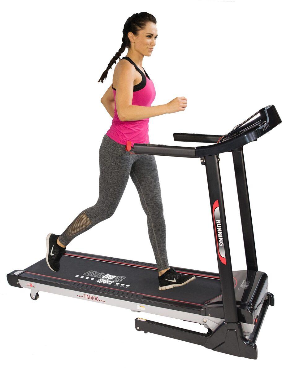 Bild 1 von Christopeit Sport® Laufband »TM 400«, Empfänger für drahtlosen Pulsmessgurt im Computer enthalten