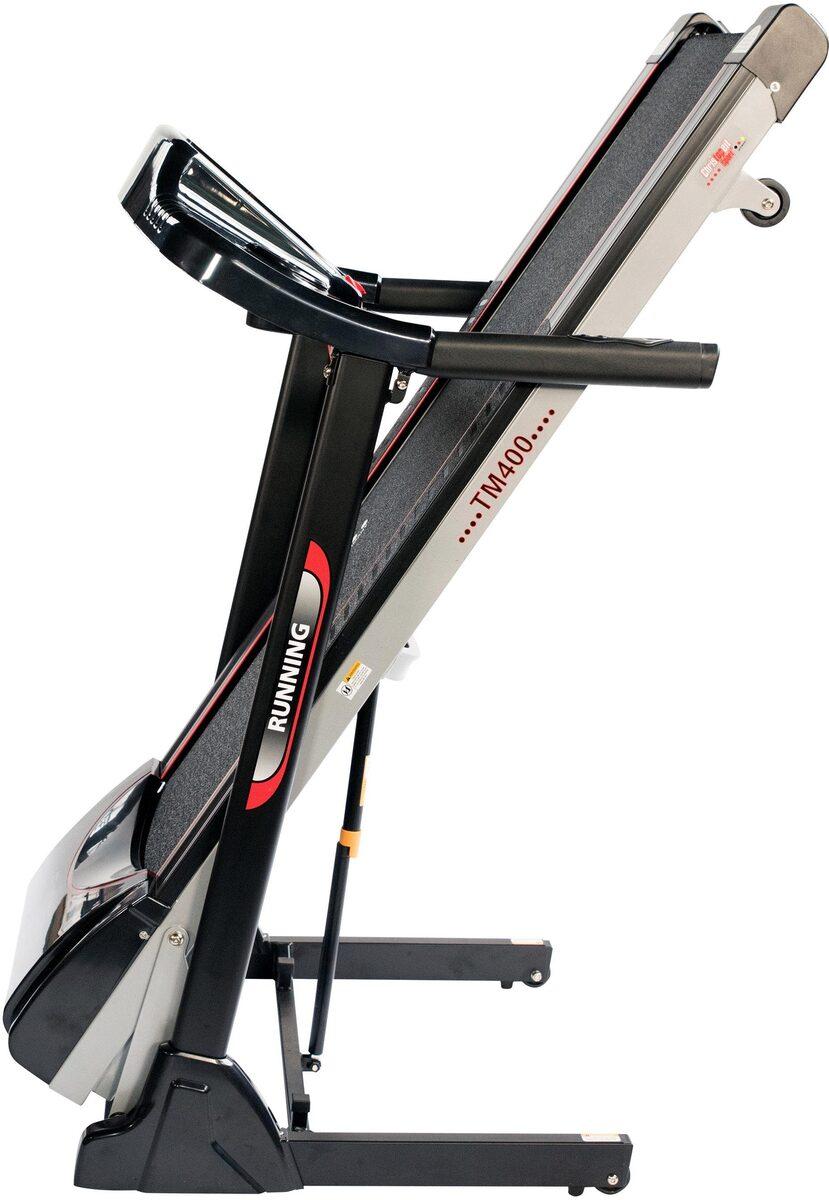 Bild 2 von Christopeit Sport® Laufband »TM 400«, Empfänger für drahtlosen Pulsmessgurt im Computer enthalten