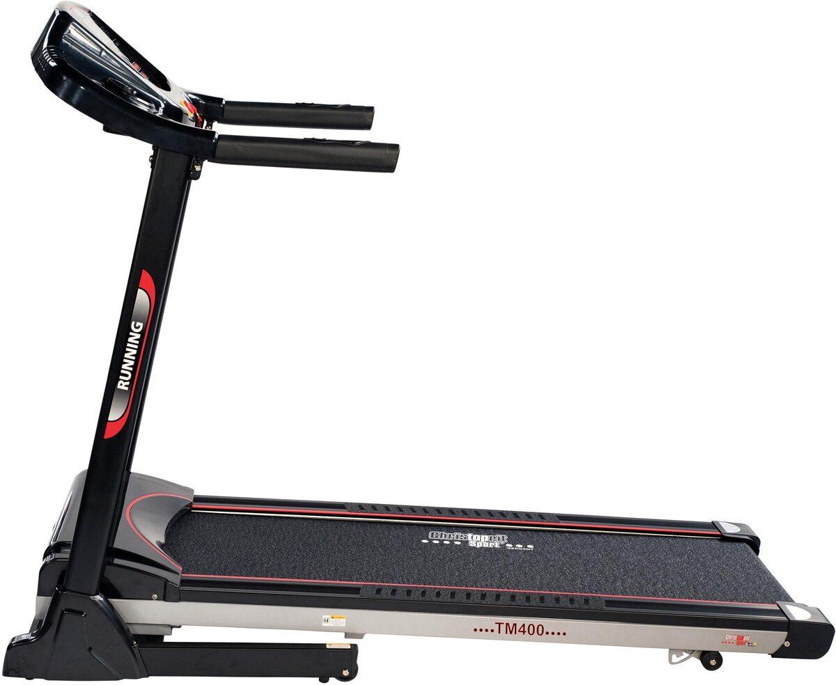 Bild 4 von Christopeit Sport® Laufband »TM 400«, Empfänger für drahtlosen Pulsmessgurt im Computer enthalten
