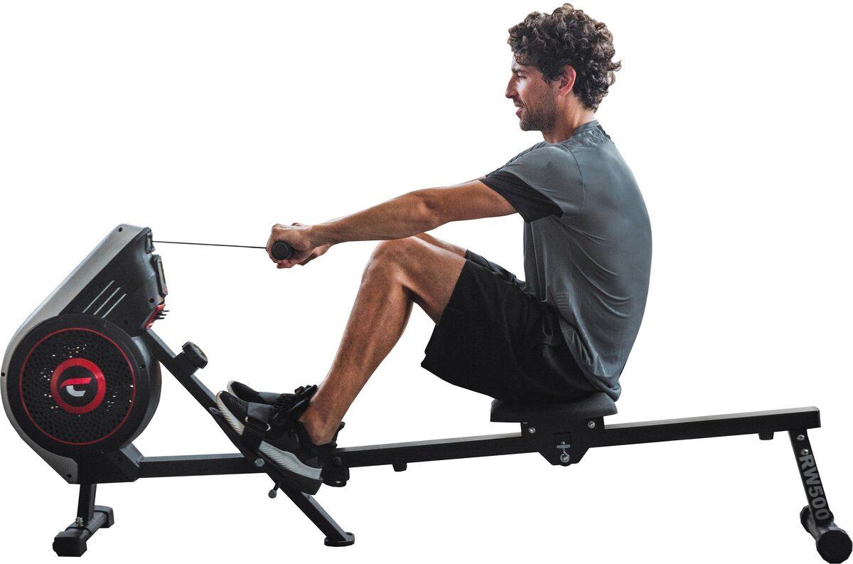 Bild 1 von Christopeit Sport® Ruderzugmaschine »Ruderzugmaschine RW 500«, Ruderschiene platzsparend hochklappbar