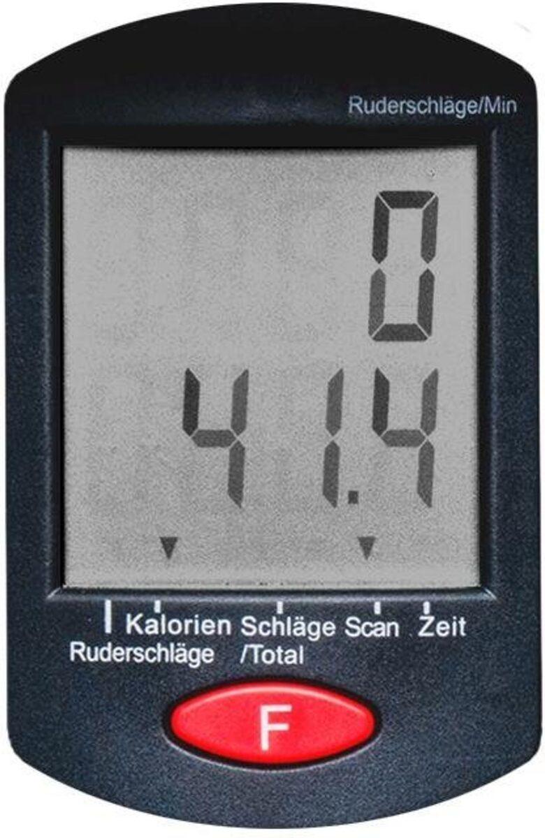 Bild 2 von Christopeit Sport® Ruderzugmaschine »Ruderzugmaschine RW 500«, Ruderschiene platzsparend hochklappbar