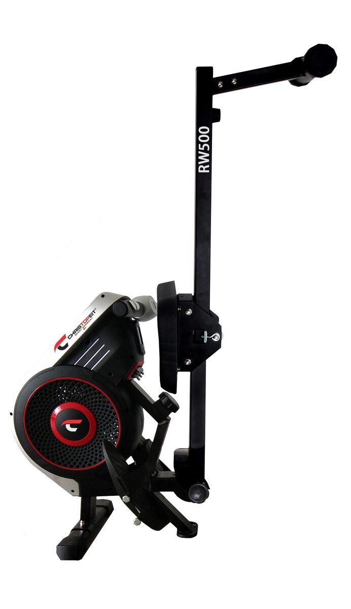 Bild 3 von Christopeit Sport® Ruderzugmaschine »Ruderzugmaschine RW 500«, Ruderschiene platzsparend hochklappbar