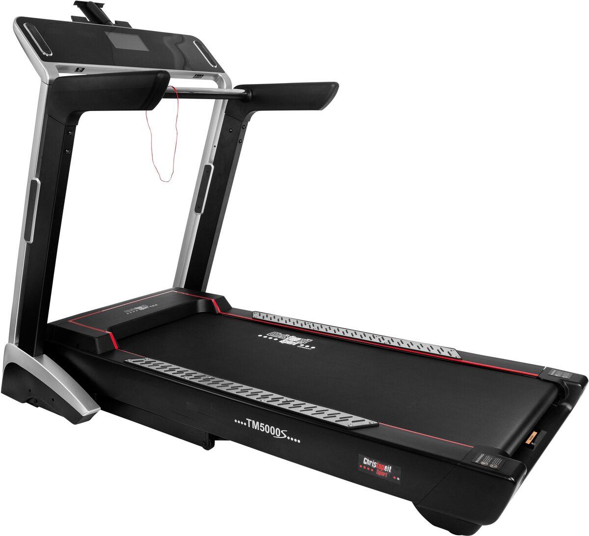 Bild 1 von Christopeit Sport® Laufband »TM 5000S«, 6 virtuelle Laufstrecken; Trainingsdatenspeicherung per App möglich