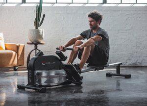 Christopeit Sport® Ruderzugmaschine »WP 1000«, Wasserwiderstand