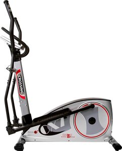 Christopeit Sport® Crosstrainer-Ergometer »CX 7«, Backlit LCD Display mit Tablet- bzw. Smartphonehalterung