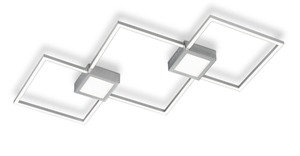 Reality Leuchten LED-Deckenleuchte Rhombus