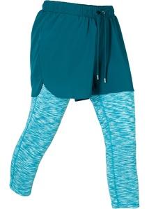 2in1 Capri-Funktions-Sport-Leggings