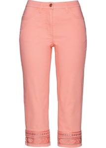 Capri-Jeans mit Verzierung